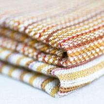 Linges de maison en lin, chanvre et coton.